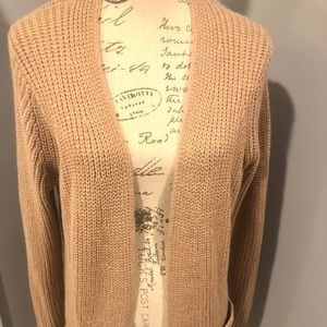 Loft Knit Sweater Coat with Pockets
